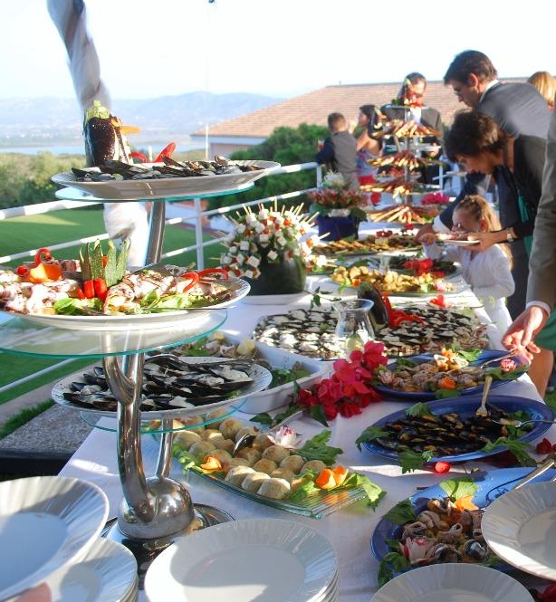 Buffet Hotel Luna Lughente web banchetti